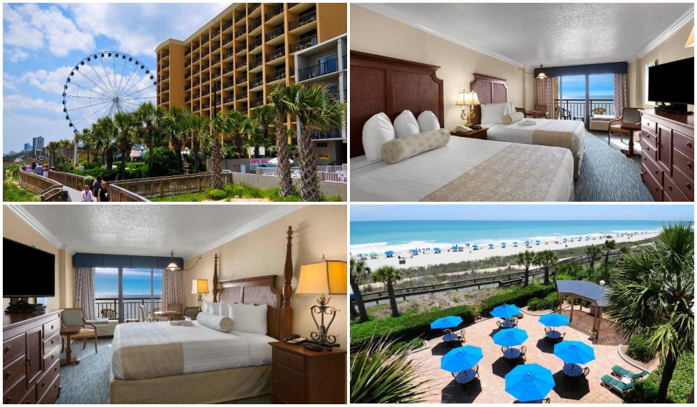 Holiday Inn At the Pavilion, oceanfront hotel in myrtle beach
