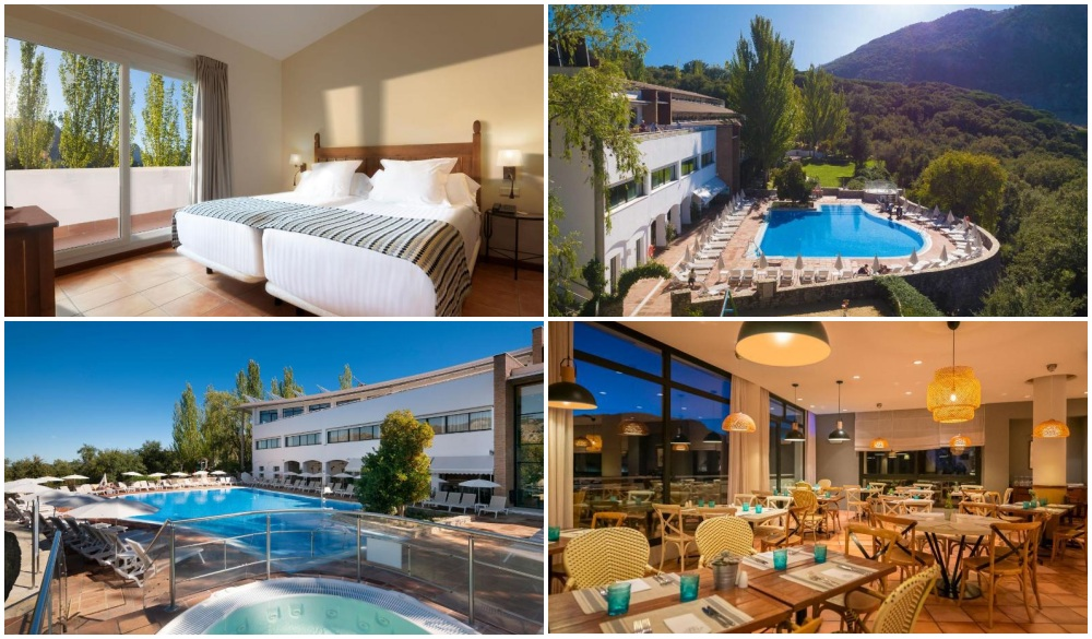 Hotel Fuerte Grazalema, hotel to stay for spain road trip