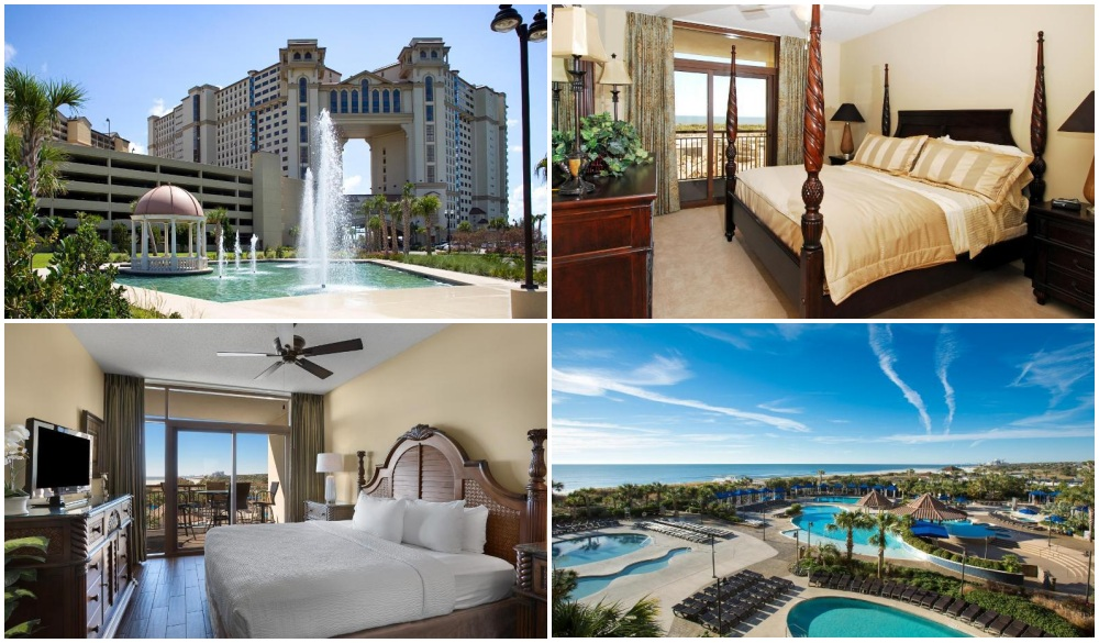 North Beach Resort & Villas, oceanfront hotel in myrtle beach