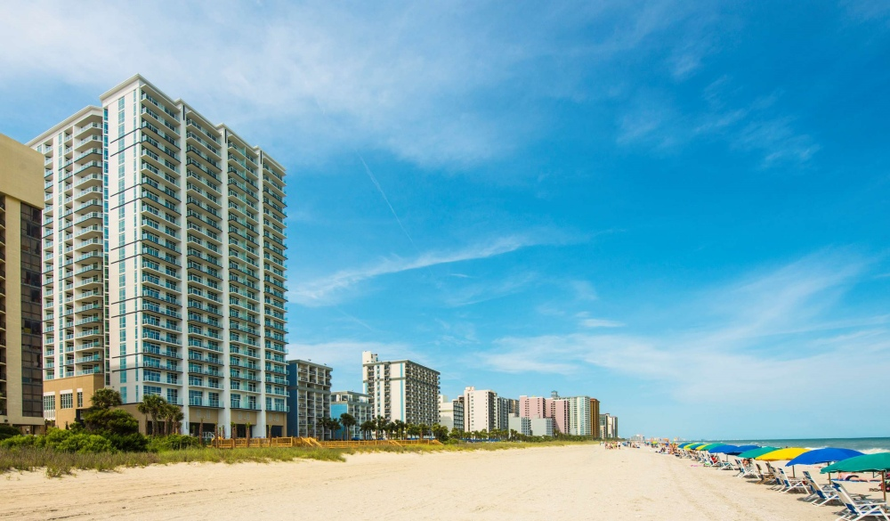 Ocean 22 by Hilton Grand Vacations, oceanfront hotel in myrtle beach