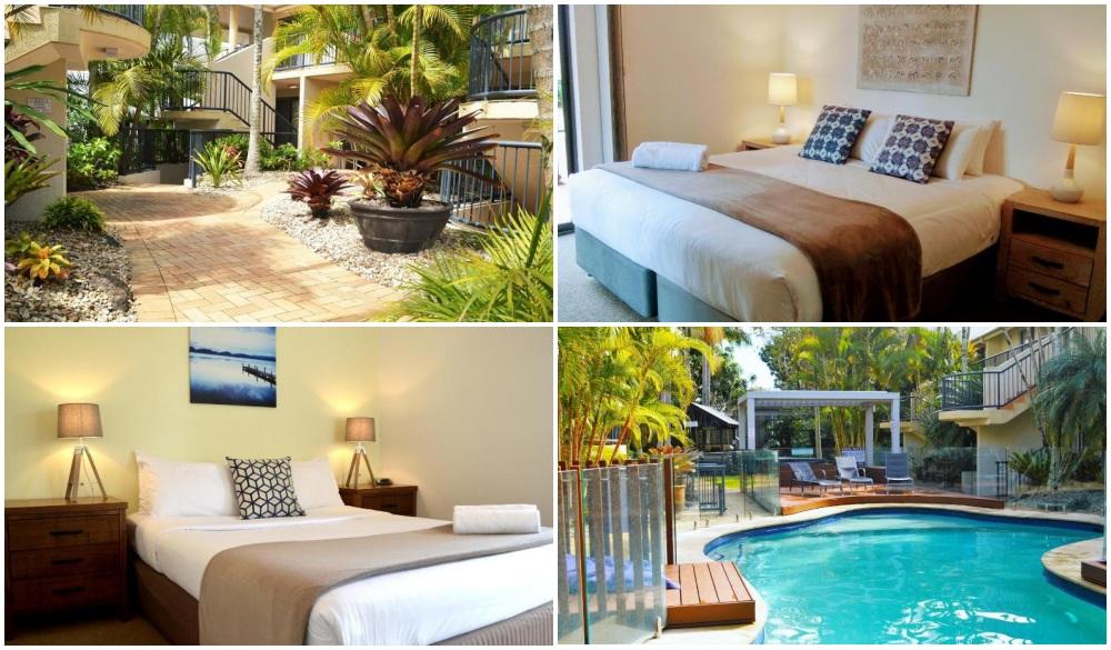 Outrigger Bay Apartments, Byron Bay resort