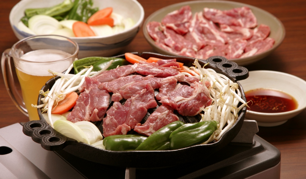 Mongolian mutton barbecue