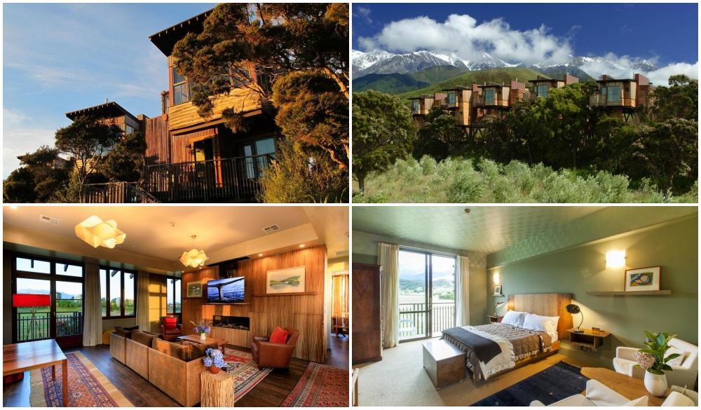 The Hapuku Lodge + Tree Houses – New Zealand