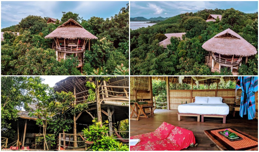 The Island Hideout – Thailand, tree house hotel