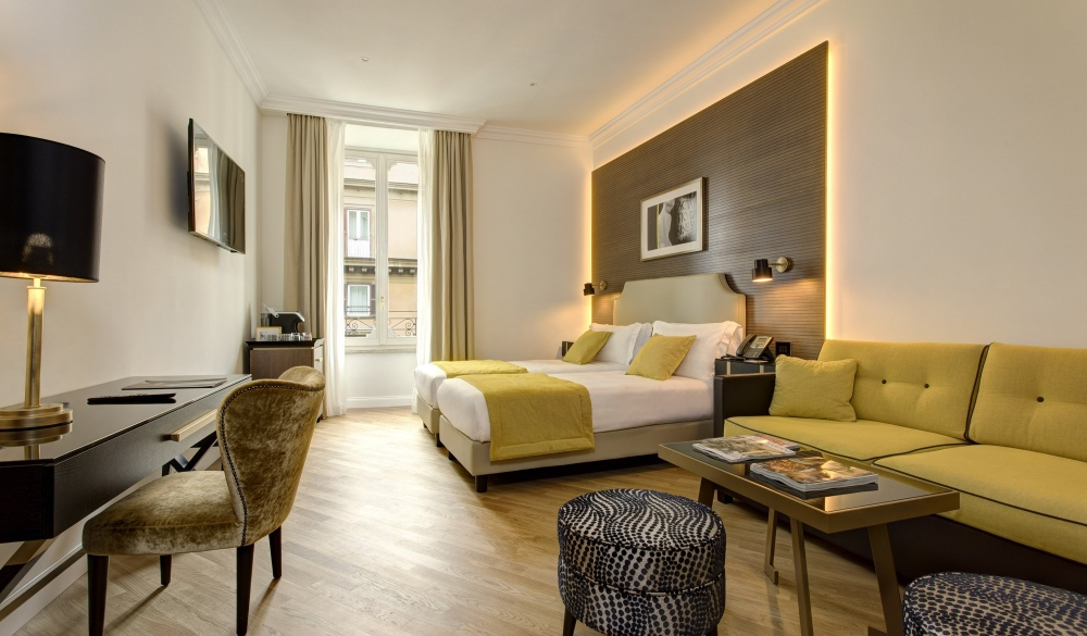 The K Boutique Hotel, hotel closest to the colosseum