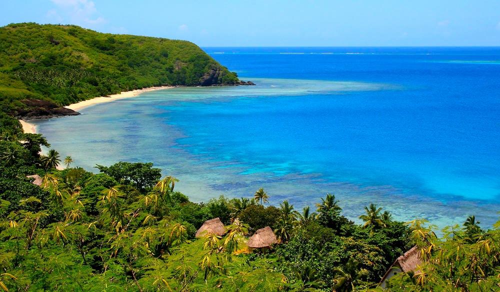 Fiji Yasawa islands, Tropical Paradise VS Winter Wonderland