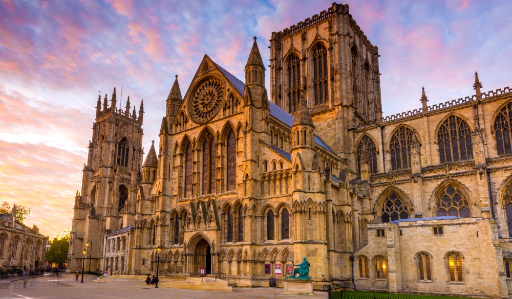 York Minster, York, England, UK