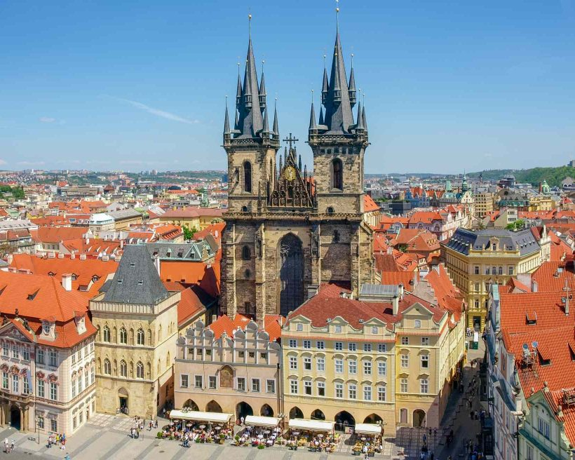 Our Lady Church before Tyn on Old Town Square, Prague