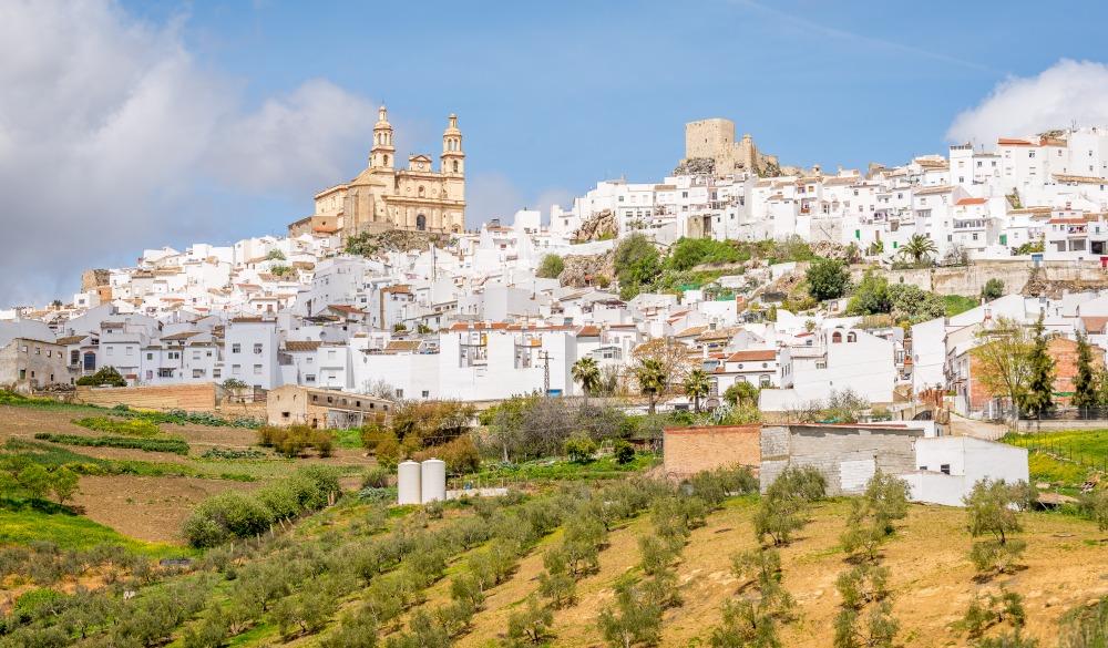 Olvera, Sierra de Grazalema, Cadiz Andalusia Spain