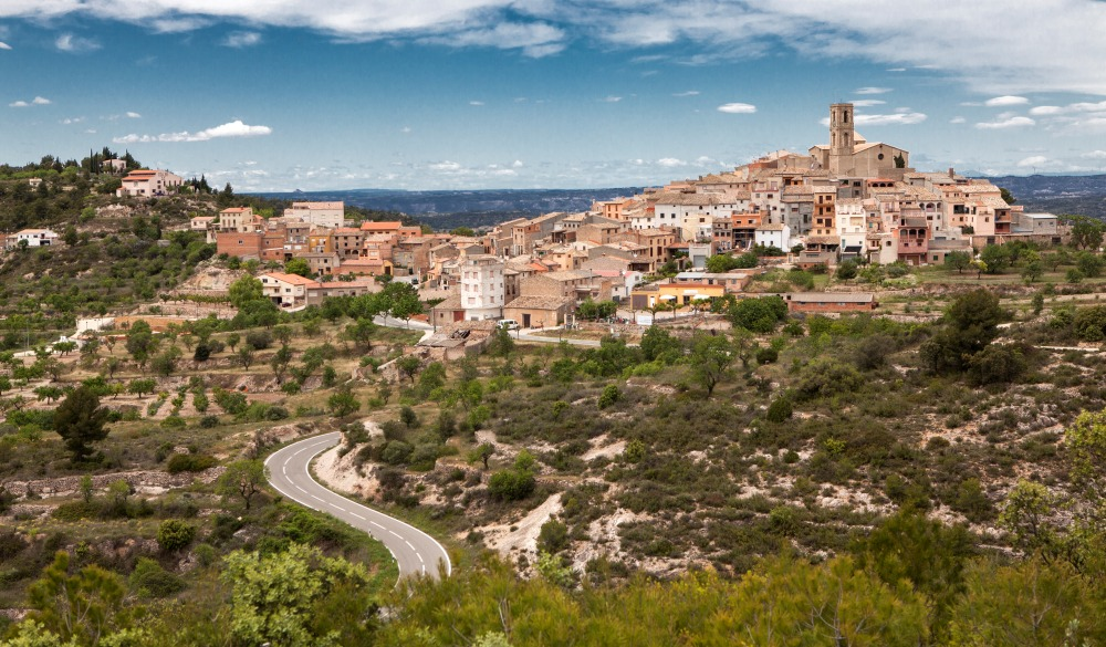 Priorat Wine Region, Spain, destination for spain road trip