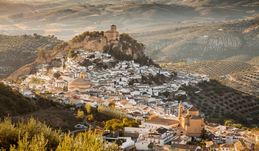 Montefrio's famous sight, destination for spain road trip