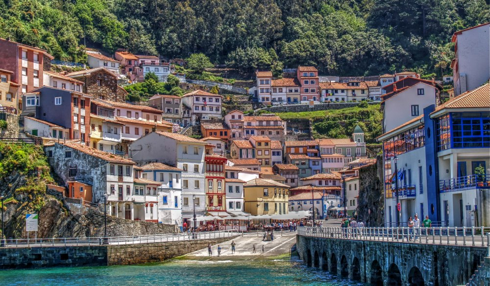 Cudillero, destination for spain road trip