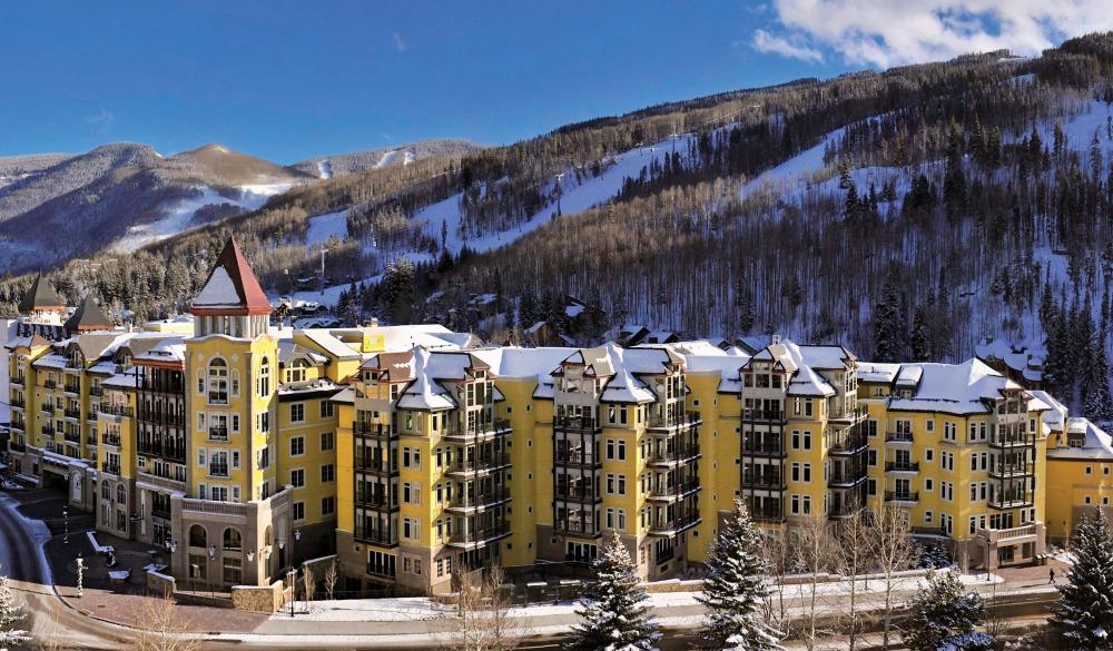 The Ritz Carlton Club Vail, ski resort in Colorado
