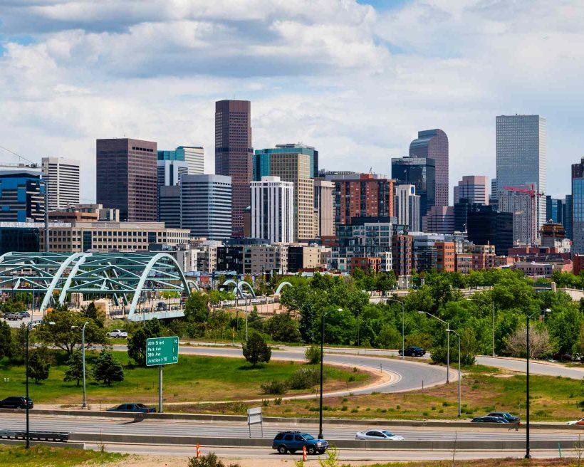 Skyscrapers in Denver